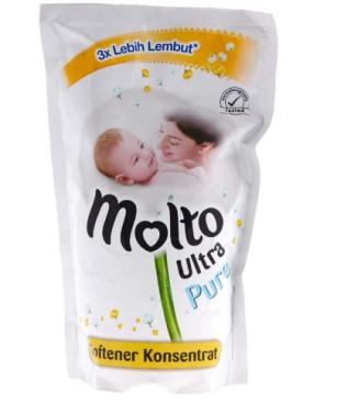 pelembut pakaian bayi molto aman